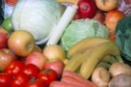 A collection of fruit and vegetables
